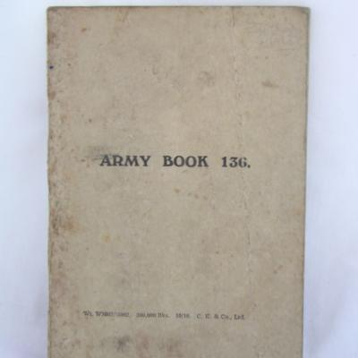 Army Book 136
