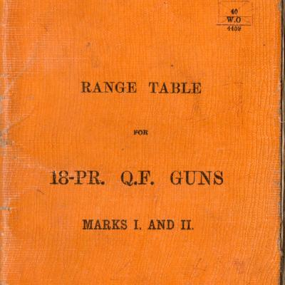 Book of Range Tables