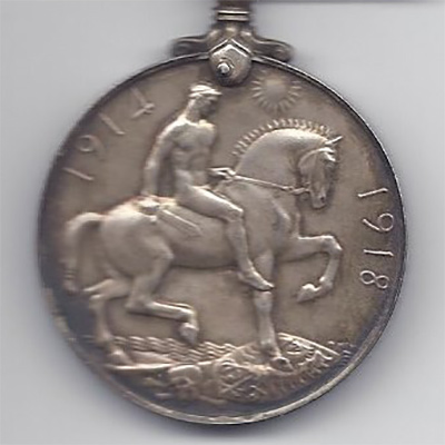 British War medal - obverse