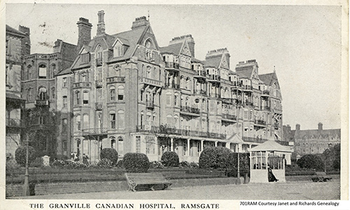 The Granville Canadian Special Hospital