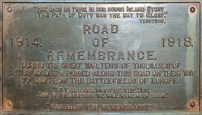 Road of Remembrance